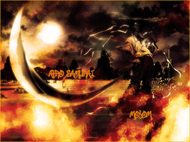 Afro Samurai Large Picture by MojoM1