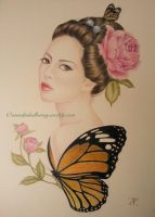 Madame Butterfly by monikaholloway