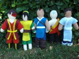 ATLA Team Avatar by theblindbandit1