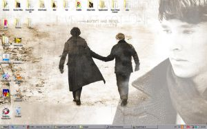 Sherlock and John Desktop by Golubaja