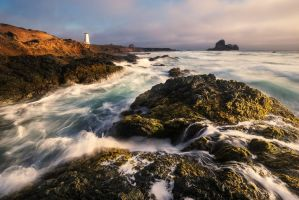 Chaos at the Lighthouse by fistfulofneurons