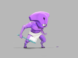 Faceless Void before work by cedalcalde