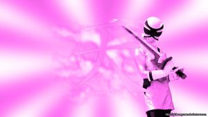 Wallpaper- ShinkenSamurai Pink by gideongraves