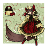 Red Riding Wolf Adopt - ON HOLD by kuroeko-adopts