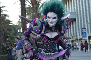 Undead Rogue - Cataclysmic Gladiator's Vestments by Egg-Sisters-Cosplay