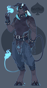 DevilBull [adopt] SOLD by MLarty