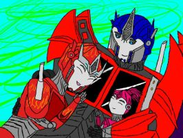 Prime's Angels by LoveableHothead
