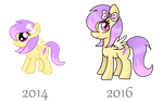Art improvement (ponies) by GoldPonyAdoptables