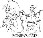 The Backstage - Bonifa's Cats by Neotomi
