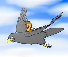 Prio ridin' mah Eagle by Nukeleer