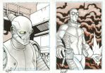 Even MORE sketch cards by RyanOttley