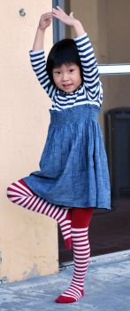 Striped Stockings 14 by SBG-CrewStock