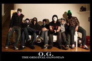 Hollywood Undead OG:  The Original Gangstas by HUKissy