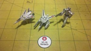 VF-1S Veritech, 1-250th scale, all 3 modes by Dented-Rick