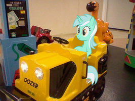 Lyra goes for a ride by Names-Tailz