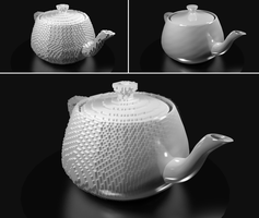 Artificial Teapot by 10to1