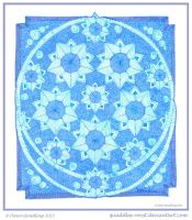All Stars Mandala by Quaddles-Roost