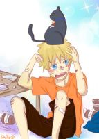 Naru and Kitty Sasu by shellyNaruSakuLOVE