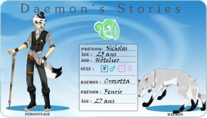 Nicholas et Fenrir, Daemon's Stories by Naolya