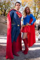 Superman and Supergirl by Solipsis79