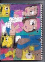 Burns, Smithers, and Meg 2 by RozStaw57