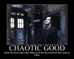 Chaotic Good Doctor Who by 4thehorde