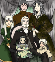 Malfoy-Koschei Family by yinyangswings
