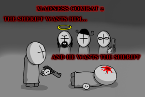 Madness Combat 2 Poster by Tarantulakid96