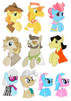 Pocket Pony Earth Pony Edition by OceanBreezeBrony