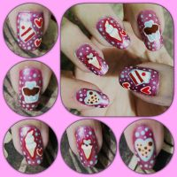 Sweet Love Manicure Right by MikariStar