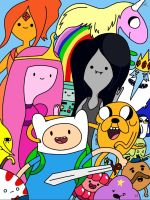 Adventure Time by stbcobra