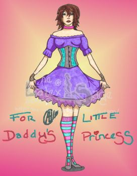 For Daddy's Little Princess by The-Latexsage