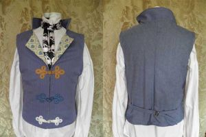 Steampunk-Victorian waistcoat PCW13-15s by JanuaryGuest