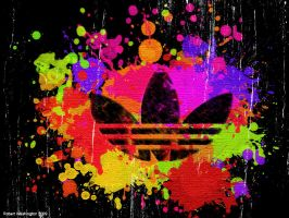 Adidas Paint by masterkitsune