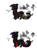 Canimur Adopts with ICONS - Offer - Adopted by Feralx1