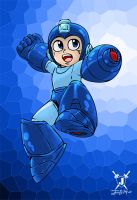 Mega Man by Jimmyflame-Artworks