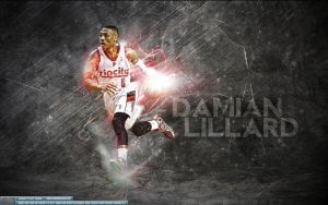 Damian Lillard Wallpaper by Sanoinoi