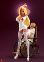 Nurse Stacy 3 of 4 by sodacan