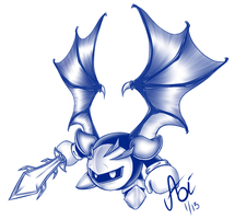 Meta Knight by Hichigo1989