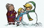 Fun In The Snow by Choeth