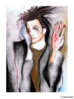 Schiele with Raised Arms by Cinnamonster