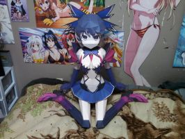 Date A Live Tohka, Life Size 75% done by tankball