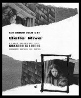 Concert Flyer - Belle Rive 3 by phenoxa