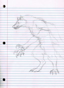 Werewolf Party Scribble by LordBranflakes