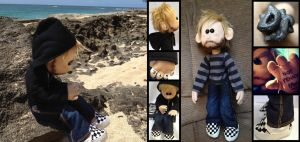 LOST Charlie Pace Plushie by daphnetails