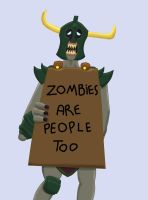 Zombies are People too by BPBegha