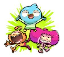 Harvey Beaks by hakurinn0215