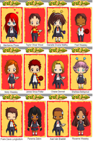 Griffindor ~ Next Generation ~ Chibis by SweetHonestyKeysha