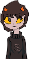 sexy wexy karkat by gamzizzle