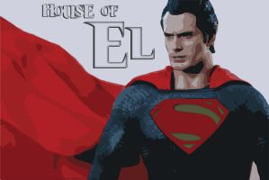 House Of EL - Man Of Steel by supermanscape